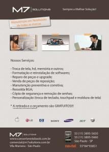 Assistencia técnica Ultrabook Vila Mariana - M7Solutions