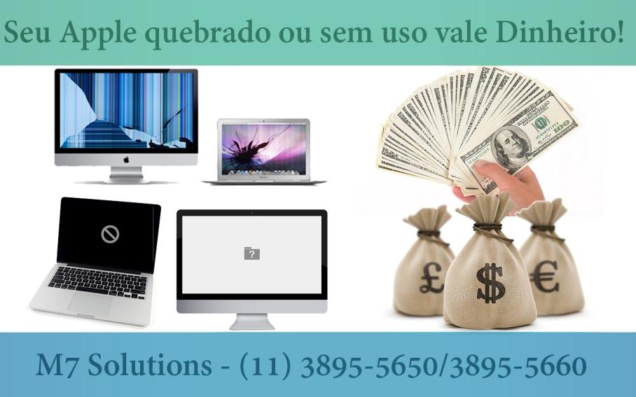 M7 Solutions Manutenção em Apple e notebooks Vila Mariana Ipiranga Saude Itaim Jardins
